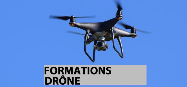 Formations Drône