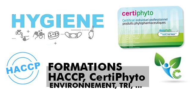 Formations Hygiène et environnement